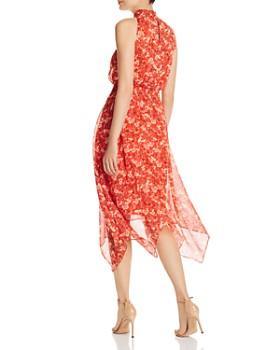 Sam Edelman - Smocked Midi Handkerchief Dress
