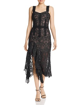 BRONX AND BANCO - Tiffany Lace Midi Dress - 100% Exclusive