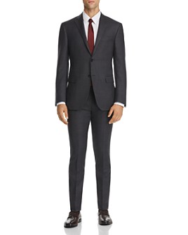Corneliani - Tonal-Plaid Regular Fit Suit