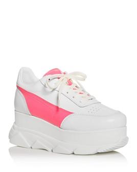Joshua Sanders - Women's Zenith Platform Wedge Sneakers