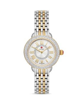MICHELE -  Serein Petite Two-Tone Diamond Watch, 29mm