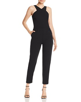 AQUA - Cut-In Shoulder Jumpsuit - 100% Exclusive