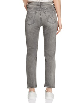 MOTHER - The Tomcat Ankle Straight-Leg Jeans in Beam Me Up
