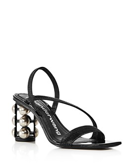 Alexander Wang - Women's Deedee Patent Leather Cage Heel Sandals