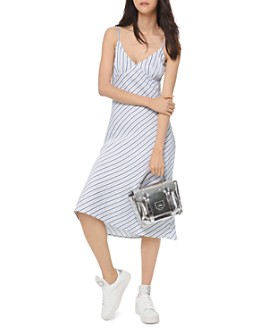 MICHAEL Michael Kors - Striped Slip Dress