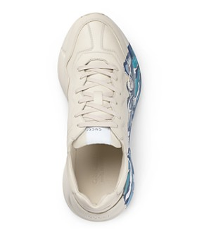 Gucci - Men's Rhyton Leather Wave Sneakers