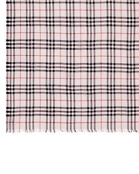 Burberry - Check & Icon Stripe Gauze Scarf
