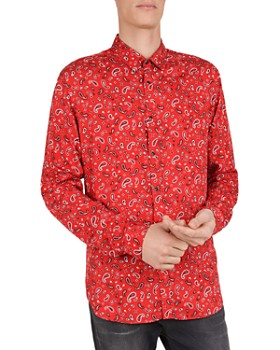 The Kooples - Bandana Print Regular Fit Shirt
