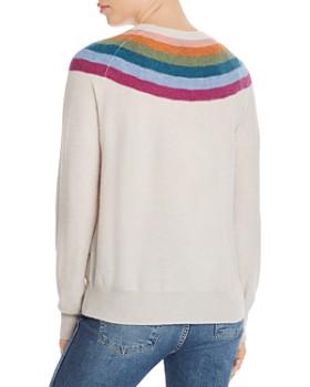 AQUA - Rainbow-Stripe Cashmere Sweater - 100% Exclusive