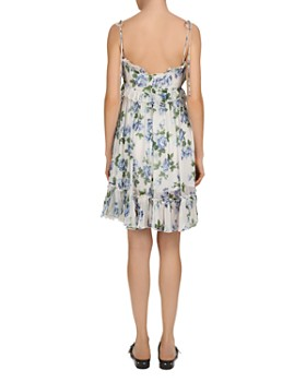 The Kooples - Antique Flowers Ruffled Floral-Print Dress
