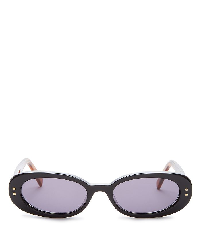 cdeed53bdbce Le Specs Luxe Women's The Outlaw Oval Sunglasses, 51mm | Bloomingdale's