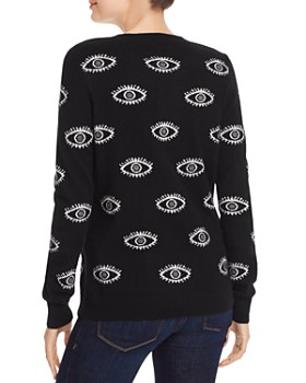 AQUA - Evil Eye Cashmere Sweater - 100% Exclusive