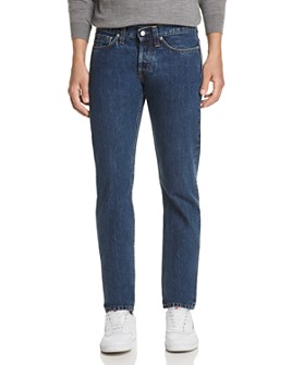 Helmut Lang - Masc Lo Drainpipe Straight Slim Fit Jeans in Acc Mid Stone