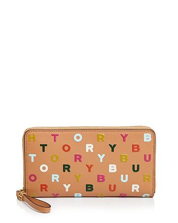 Tory Burch - Printed Letters Wallet