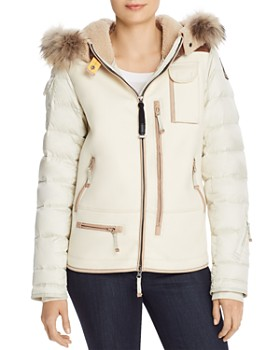 Parajumpers - Tanisha Mixed Media Fur-Trim Jacket - 100% Exclusive