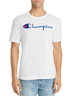 Champion Reverse Weave - Embroidered-Logo Basic Tee