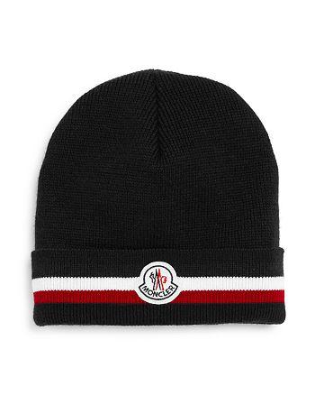 Moncler - Flag-Stripe Logo-Patch Hat