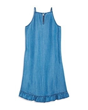 AQUA - Girls' Ruffled-Hem Dress, Big Kid - 100% Exclusive