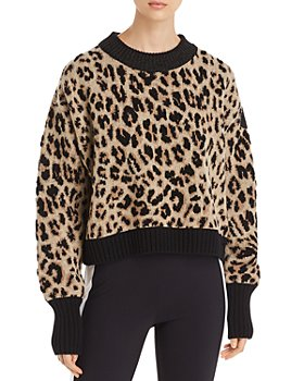 Moncler - Leopard Sparkle Knit Sweater