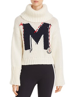 Moncler - M Logo Turtleneck Sweater