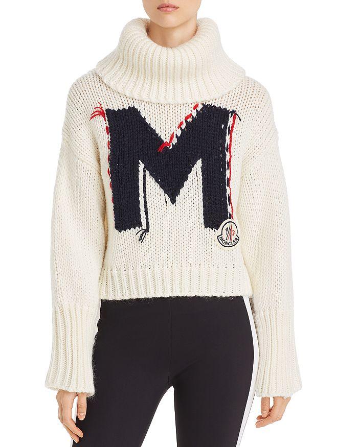Moncler - M Logo Turtleneck Sweater