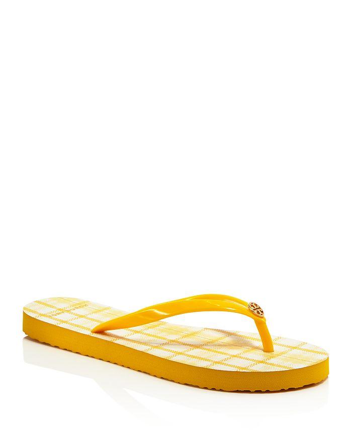 Tory Burch Slippers WOMEN'S PRINTED THIN FLIP-FLOPS