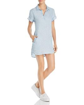 Billy T - Heart-Motif Mini Shirt Dress