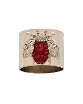 Joanna Buchanan - Sparkle Bee Napkin Rings, Set of 2