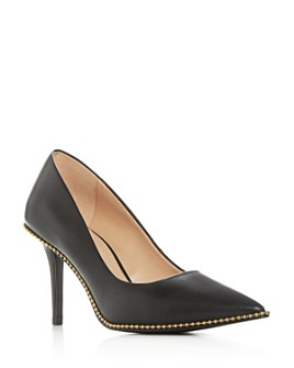 COACH - Women's Waverly Beadchain Pointed-Toe Pumps