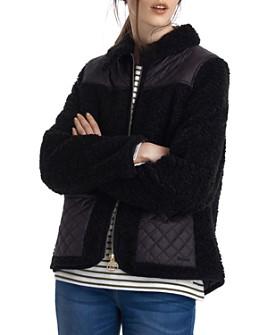 Barbour - Barbour by ALEXACHUNG Hazel Casual Sherpa Fleece Jacket