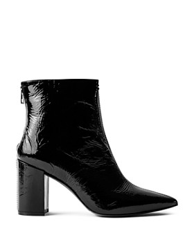 edbbb0af0 Zadig & Voltaire - Women's Glimmer Block Heel Ankle Boots ...