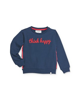 Sovereign Code - Girls' Sheena Think Happy Sweatshirt- Little Kid, Big Kid