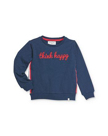 Sovereign Code - Girls' Sheena Think Happy Sweatshirt- Little Kid, Big Kid