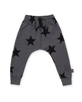 NUNUNU - Unisex Star Baggy Pants - Little Kid