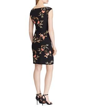 Ralph Lauren - Floral Jersey Cap-Sleeve Dress