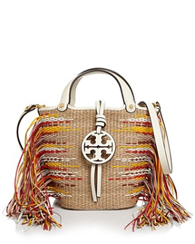 Tory Burch - Miller Mini Fringe Bucket Crossbody