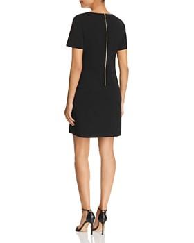 Calvin Klein - Faux-Pocket Shift Dress