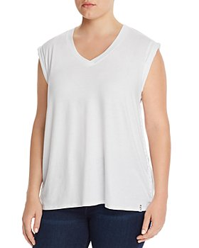 Marc New York Plus - Braided-Trim Tee