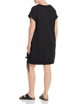 Marc New York Plus - French Terry Lace-Up Dress