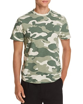 Sovereign Code - Camo-Print Slub-Knit Tee