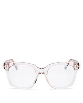 2b79e700acfe Tom Ford - Women's Oversized Square Blue Filter Glasses, ...