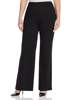 Lyssé Plus - Pull-On Trouser Jeans in Black