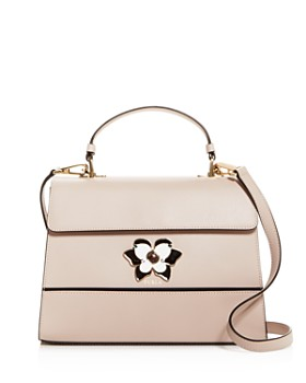 Furla - Mughetto Medium Butterfly-Embellished Leather Crossbody