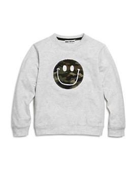 Mini Series - Boys' Camo Smiley Face Sweatshirt, Little Kid - 100% Exclusive