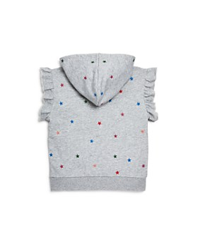 Hudson -  Girls' Torrence Sleeveless Star-Embroidered Hoodie, Big Kid - 100% Exclusive