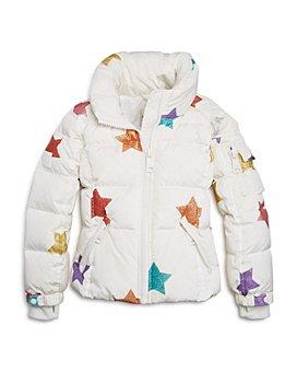 SAM. - Unisex Sparkly-Star Freestyle Jacket, Big Kid - 100% Exclusive