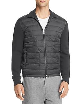 Moncler - Lightweight Mixed-Media Down Jacket