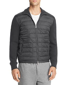 Moncler - Lightweight Mixed-Media Down Jacket