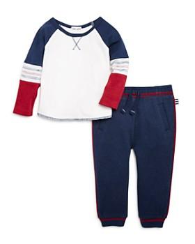 Splendid - Boys' Piped Tee & Jogger Pants Set - Baby