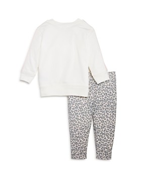 Splendid - Girls' Sweatshirt & Leopard Leggings Set, Baby - 100% Exclusive
